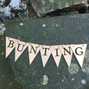 Bunting, Buttons & Bows