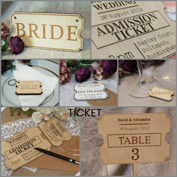 WEDDING DECOR TICKET ALL PRODUCTS