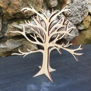 PLY WOODEN TREE DISPLAY