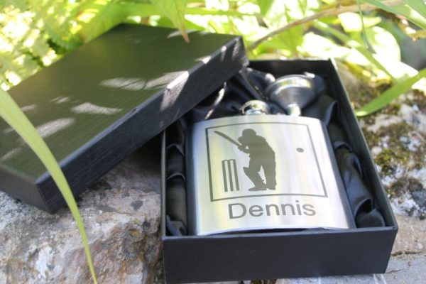 6OZ BOXED HIP FLASK