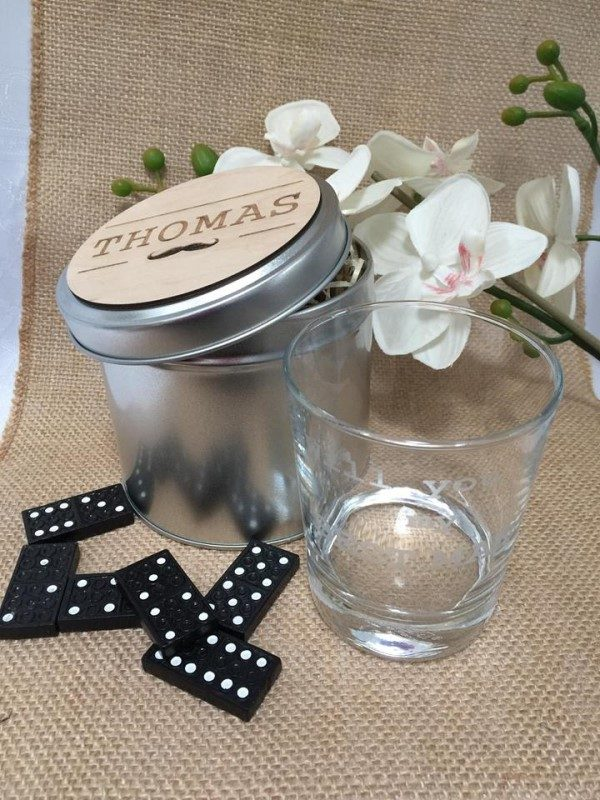 GLASS & TIN PERSONALISED RECYCLE ECO