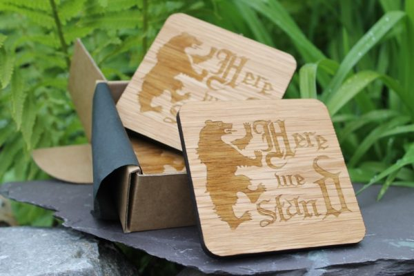 GAME OF THRONES INSPIRED WOODEN CORK BACK