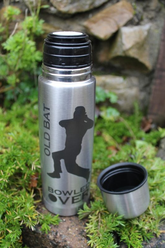 THERMAL INSULATED BRUSHED STAINLESS STEEL CUP SPORT FISHING FOOTBALL
