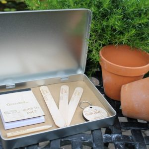 PERSONALISED GARDENERS GIFT SET