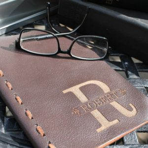 RECYCLED LEATHER NOTE BOOK A5