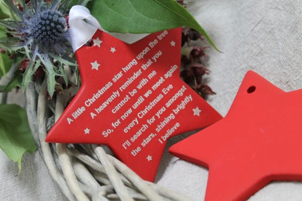 IN MEMORY OF CHRISTMAS ORNAMENT