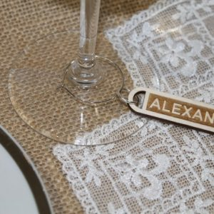 PLACE SETTING DRINK IDENTITY FAVOUR