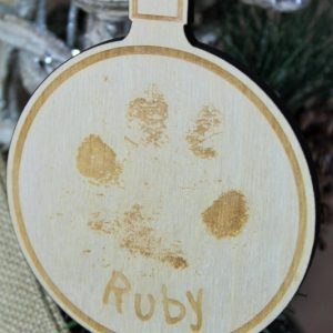 YOUR PET PRINT CHRISTMAS BAUBLE