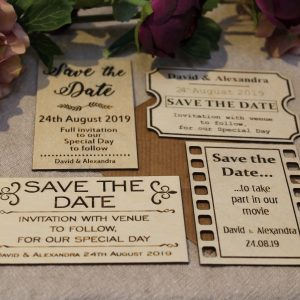 SAVE THE DATE DESIGN OPTIONS