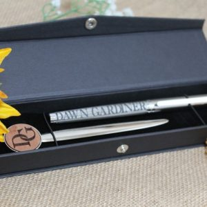 FOUNTAIN PEN & LETTER OPENER GIFT SET