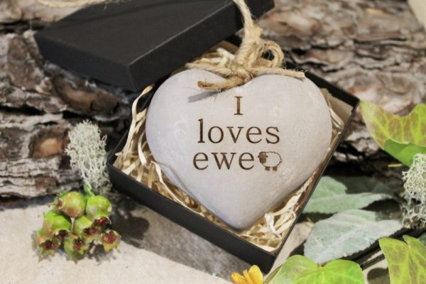 WOODEN HEART ADD YOUR TEXT