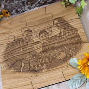 PHOTO JIGSAW COASTER SET