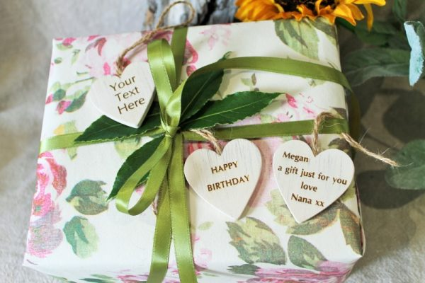 PRESENT TAG, PERSONALISED GIFT LABEL